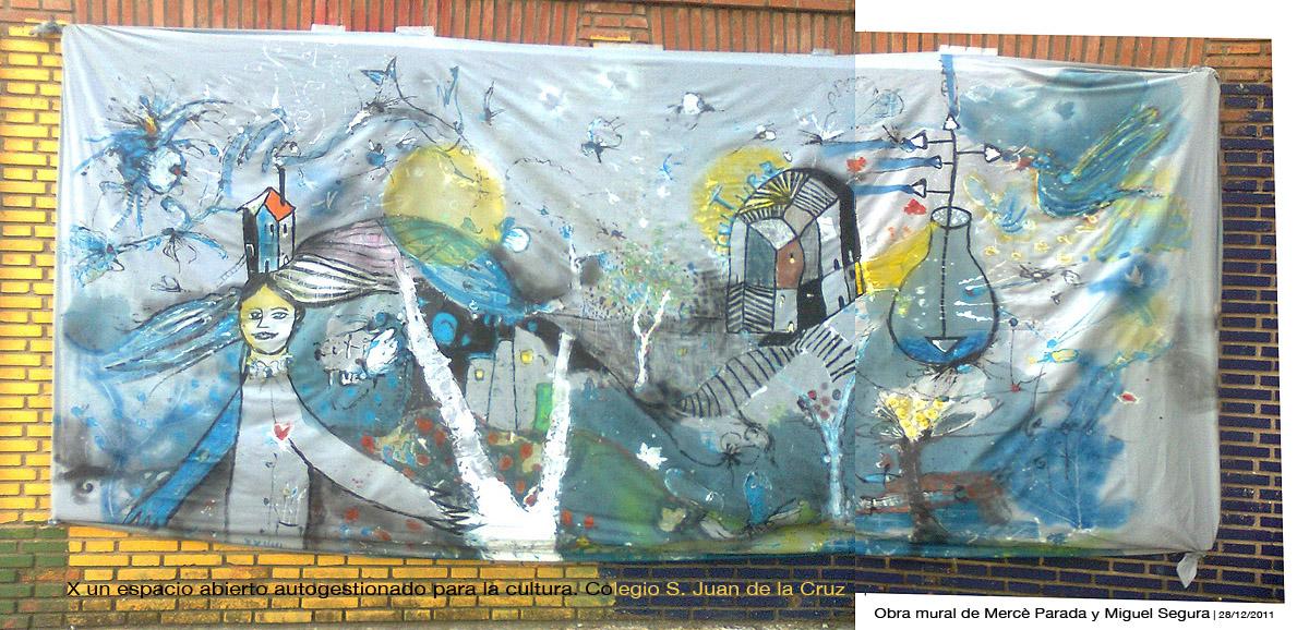 Mural de Miguel Segura y Mercedes Parada